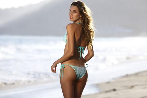 bikini de lazos