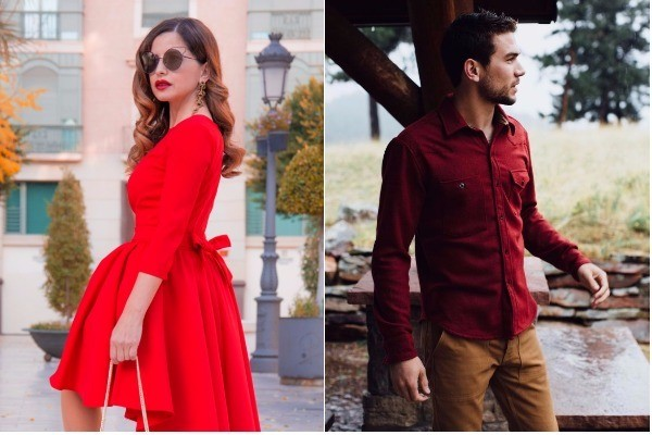 outfit color rojo